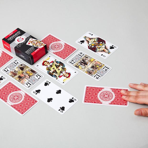 Étui du jeu de cartes de tarot