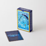 Jeu de cartes oracle bleue
