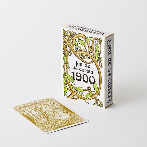 """cartes à jouer """"1900"""" Grimaud"""