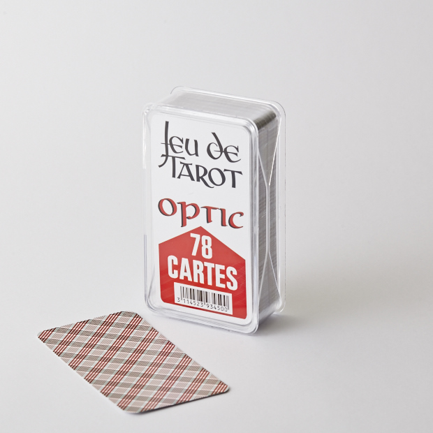 Cartes à jouer optic tarot