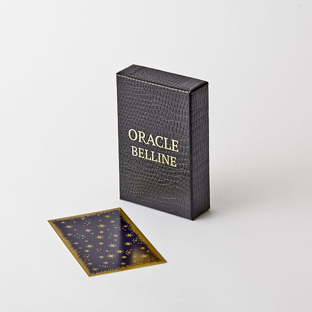 Coffret cartes Oracle Belline Grimaud Cartomancie