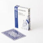 Cartes à jouer poker 516 grimaud origine bleu
