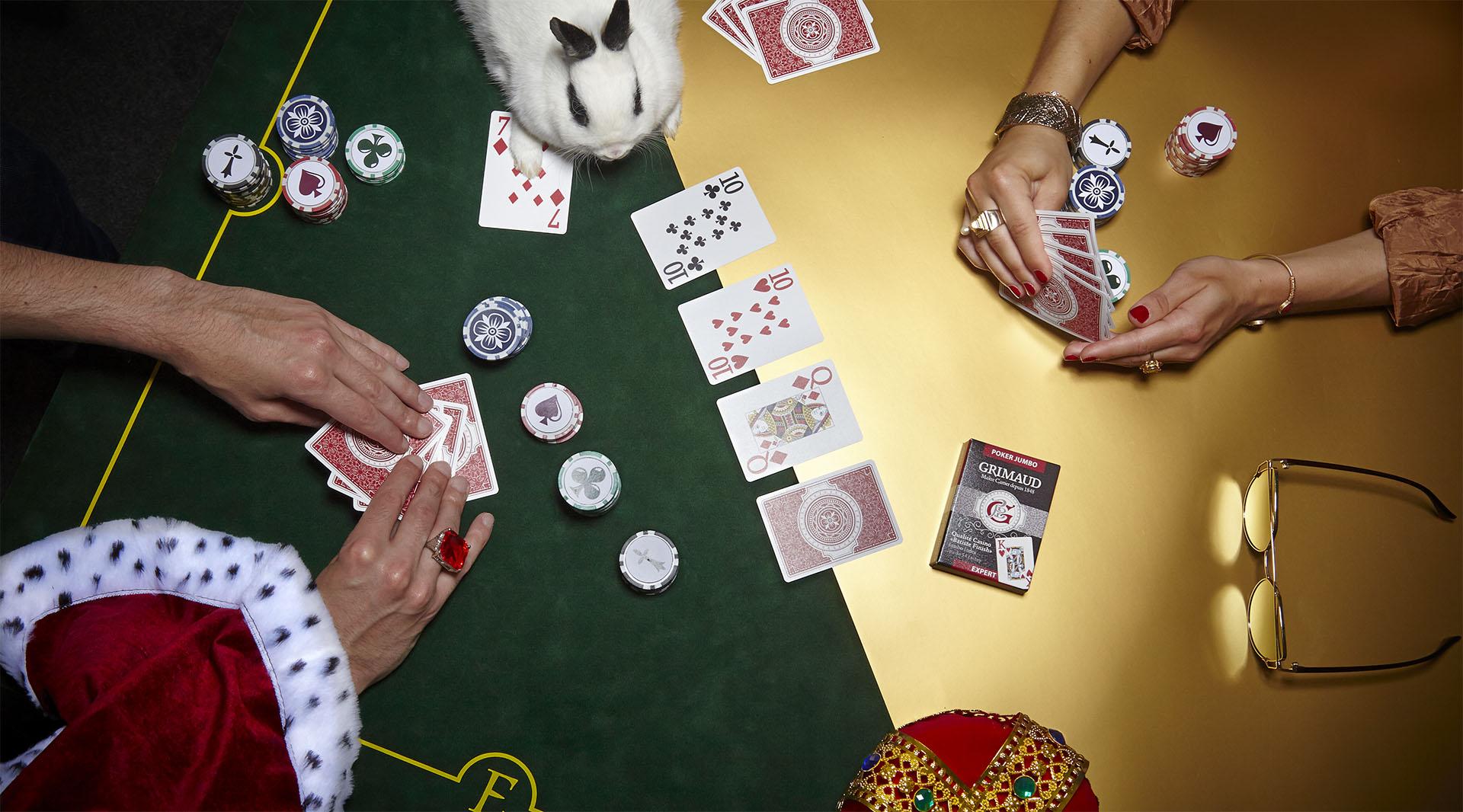 Cartes à jouer Poker Jumbo Grimaud