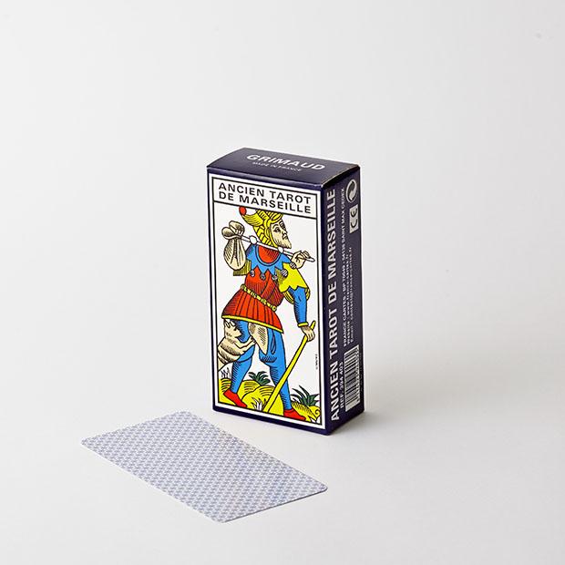 jeu de cartomancie Tarot de Marseille Grimaud