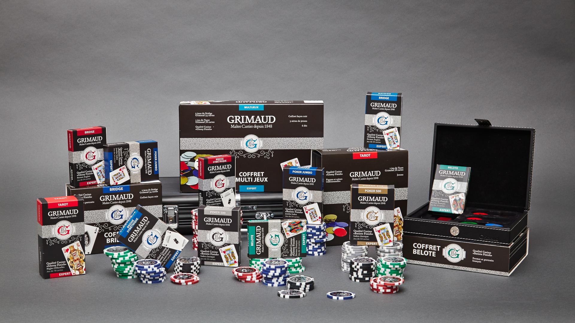 Gamme de cartes à jouer Grimaud Expert