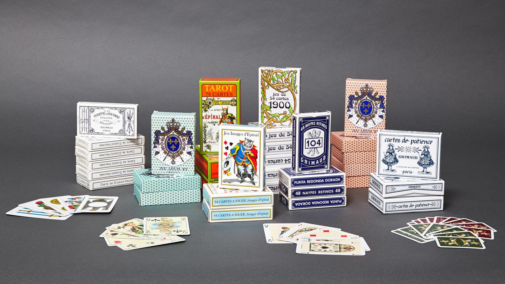 Gamme de jeux de cartes historiques