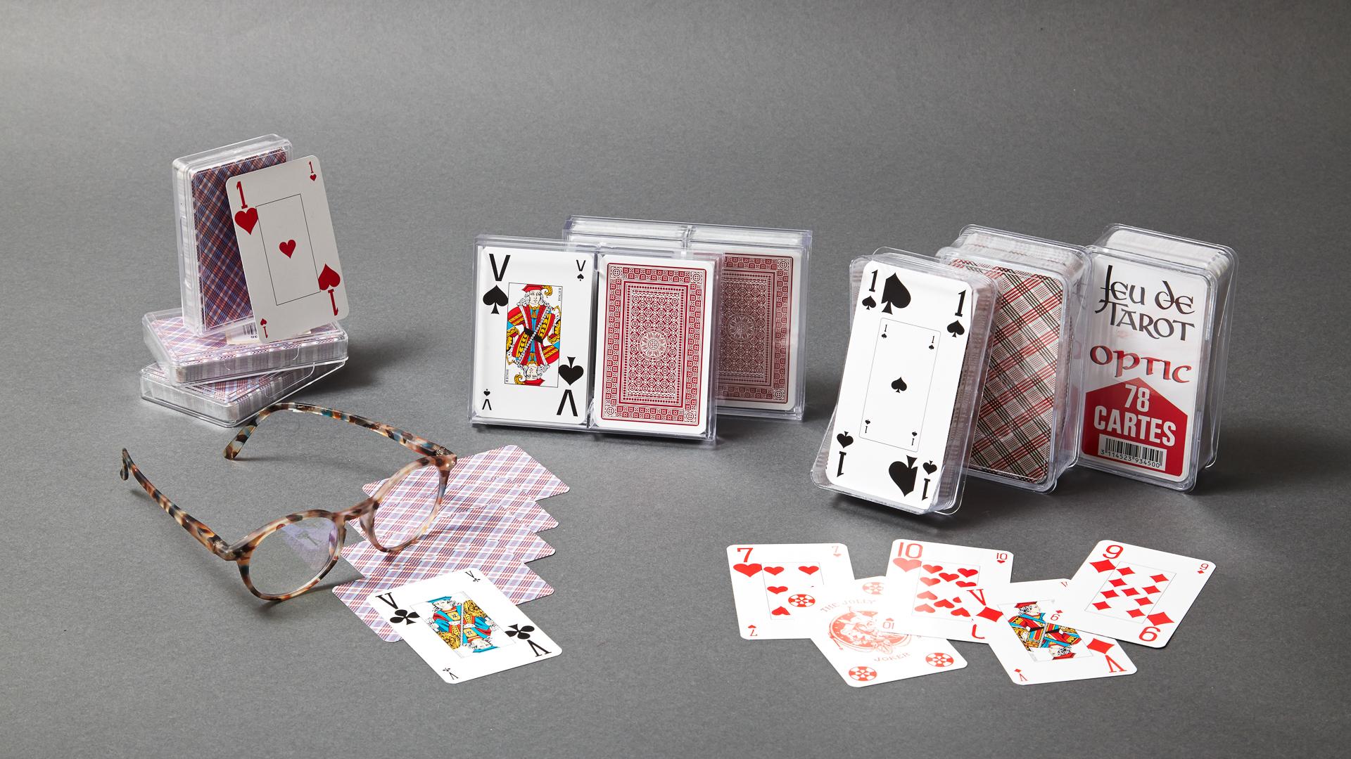 Gamme de cartes à jouer Optic Grimaud