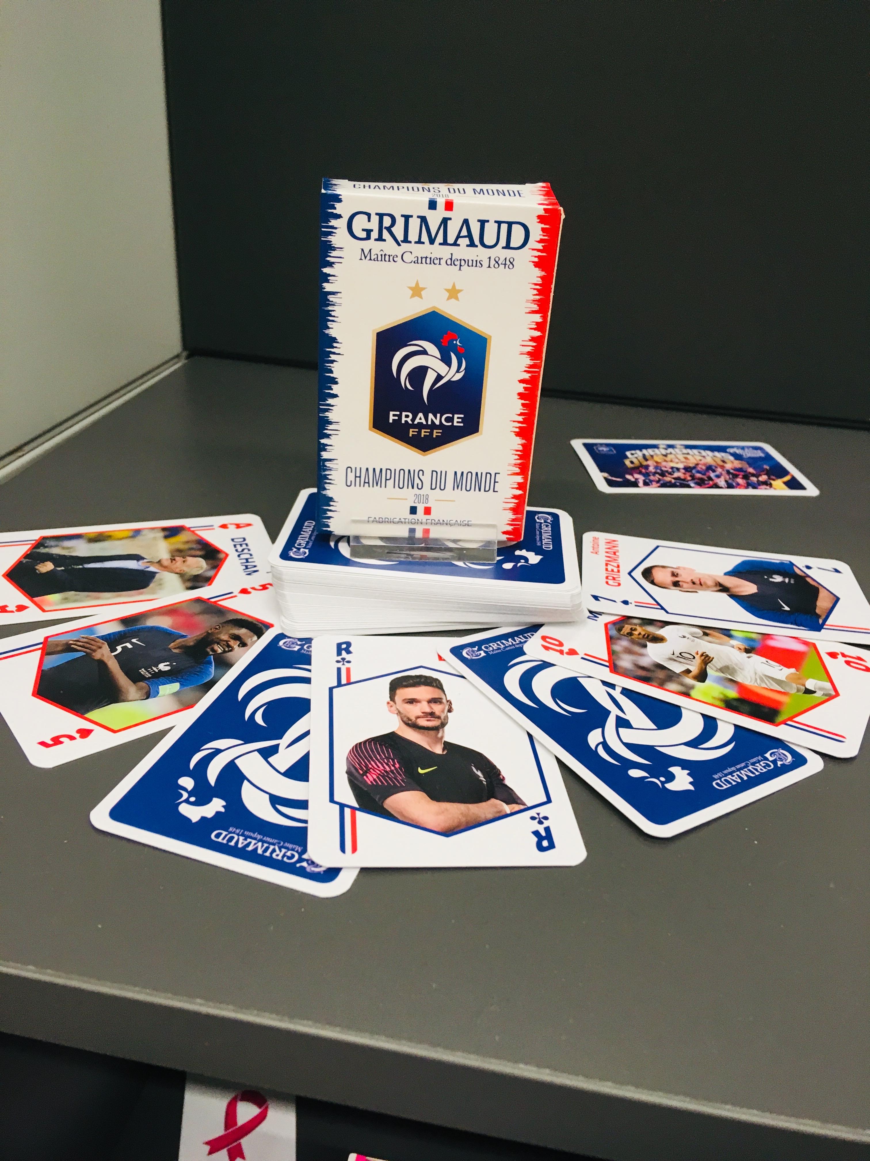Stand de l'ACFJF avec Grimaud FFF Champions du Monde