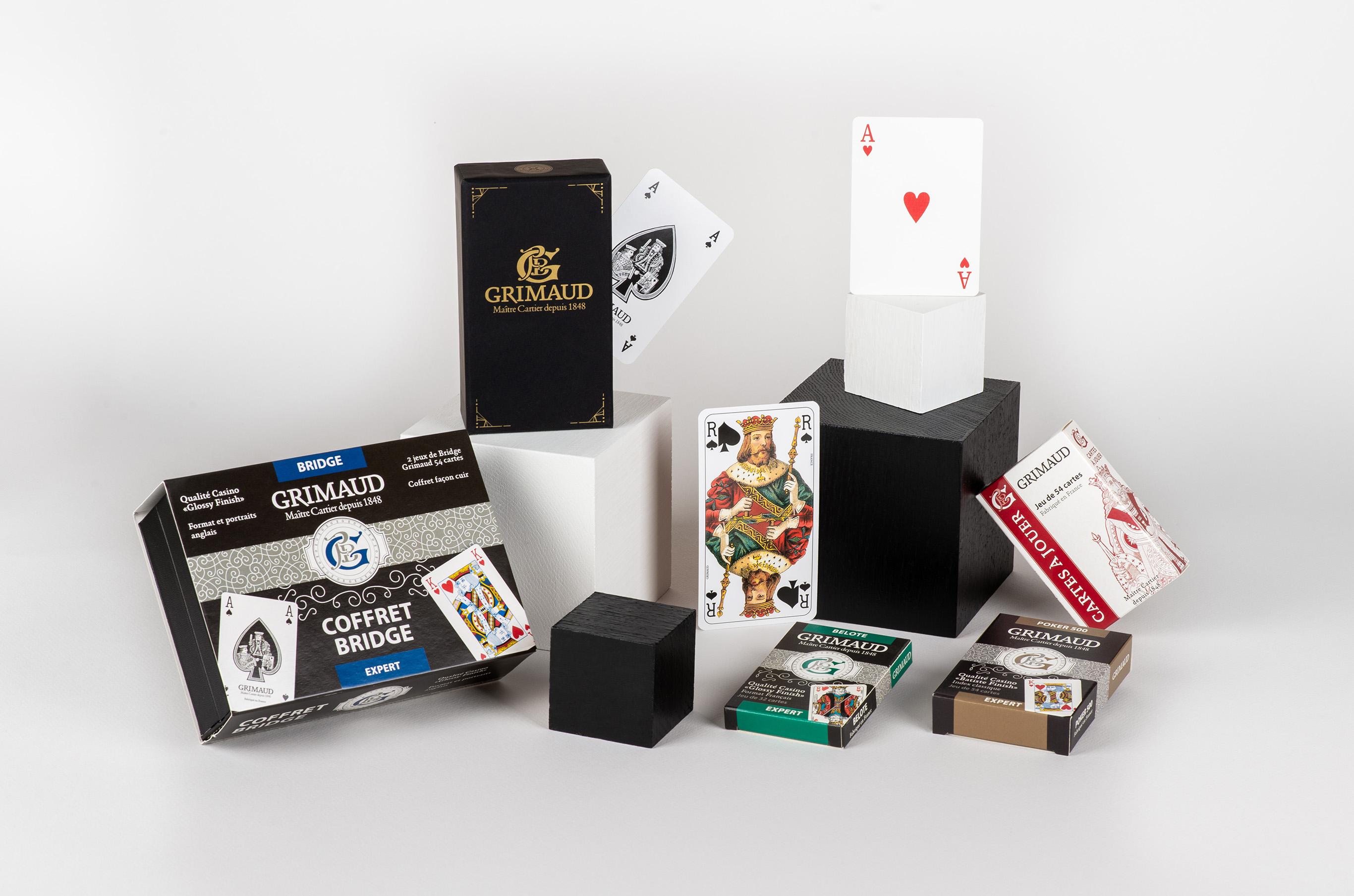 Meilleurs voeux - jeux de cartes Grimaud