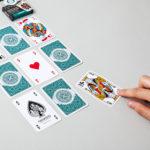 Étui du jeu de cartes belote