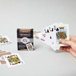 Étui du jeu de cartes poker 500 or