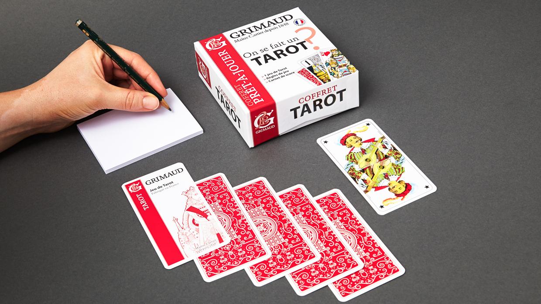 Coffret grimaud prêt-à-jouer tarot