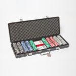 Malette de poker noire Grimaud 500 jetons