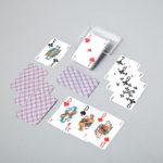 Cartes à jouer 32 cartes optic belote