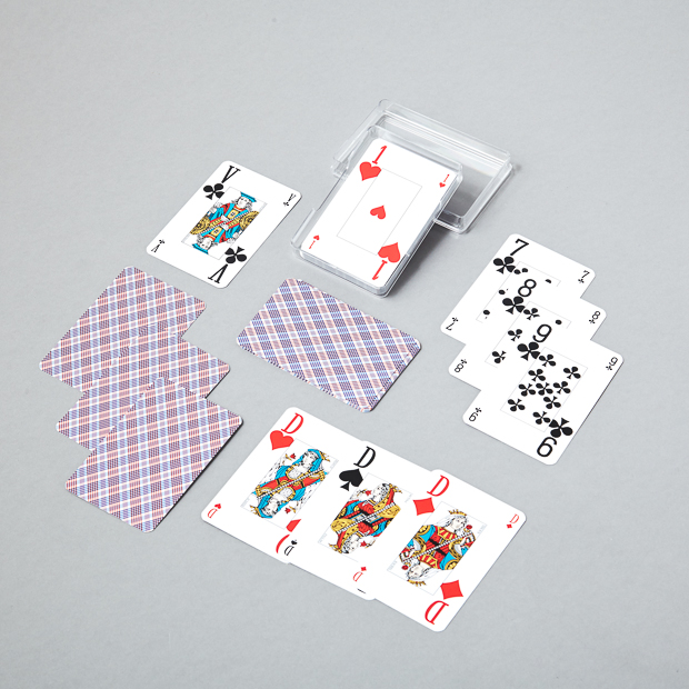 Cartes à jouer 32 cartes optic belote