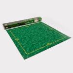 Tapis de jeu en suedine vert 77 x 77 cm