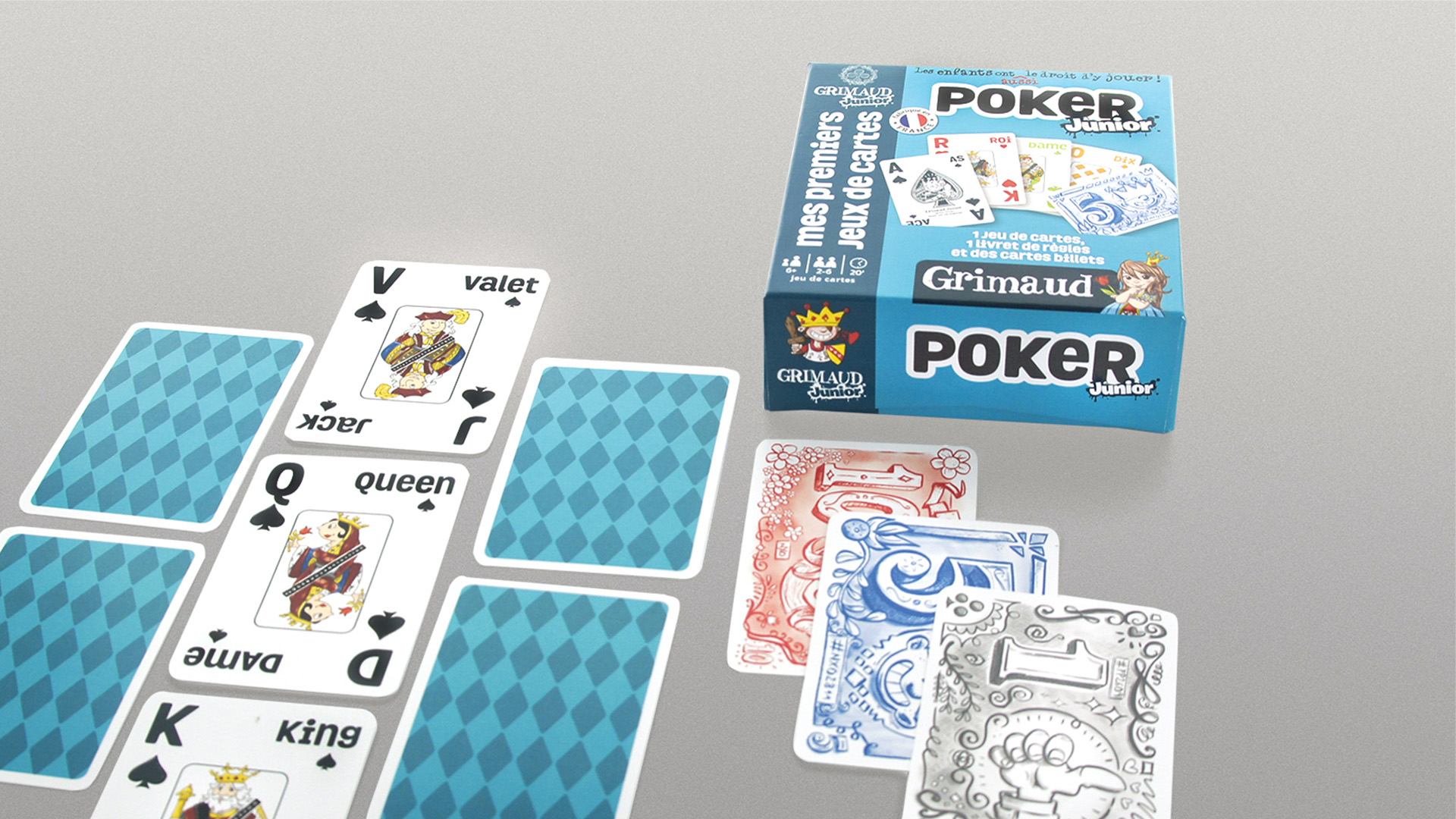 Coffret grimaud junior poker